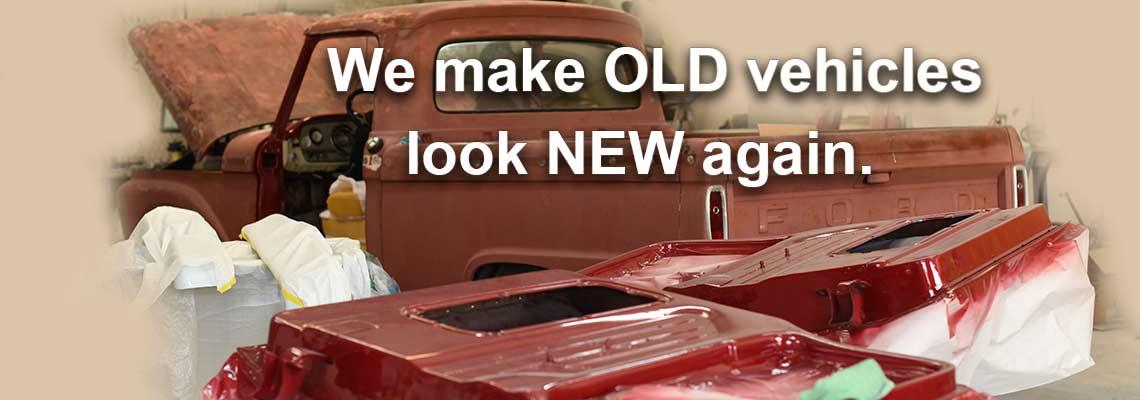 Car Restoration College Station Bryan TX Restore Vintage Classic Cars - Classic car rebuild